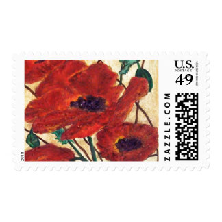 """Poppies Galore"" Postage"
