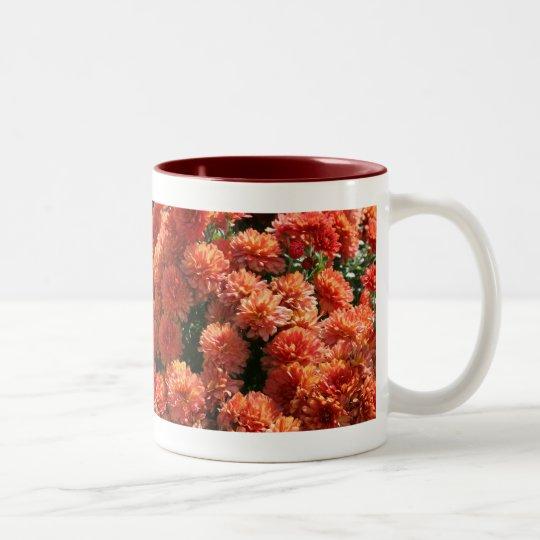 Poppies I Two-Tone Coffee Mug