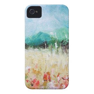 Poppies in a Cornfield iPhone 4/4S ID Card iPhone 4 Case-Mate Case