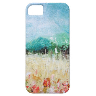 Poppies in a Cornfield iPhone 5 Barely There iPhone SE/5/5s Case