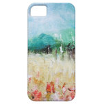 Poppies in a Cornfield iPhone 5 ID Card iPhone 5 Cases