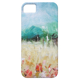 Poppies in a Cornfield iPhone 5 ID Card iPhone SE/5/5s Case