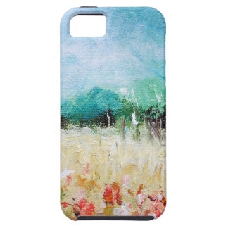 Poppies in a Cornfield iPhone 5 Tough Case