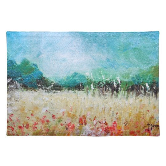 Poppies in a Cornfield Placemats