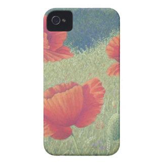 Poppies in Flanders Fields in Pastel iPhone 4 Case