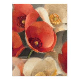 Poppies in Full Bloom Postcard
