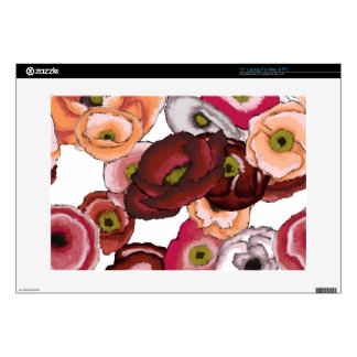 """Poppies in Oil 15"""" Laptop Decal"""