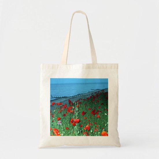 Poppies in Southwold Tote Bag