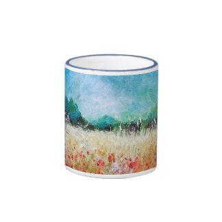 Poppies In The Cornfield Mug