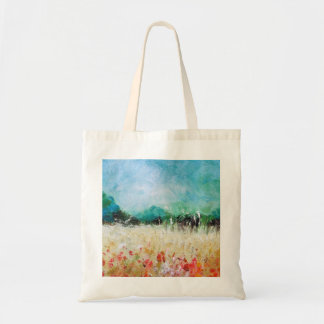 Poppies In The Cornfield Tote Bag