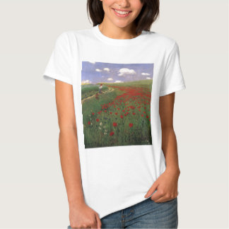 Poppies in the Field SZINYEI MERSE, Pál red flower T-Shirt