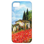 POPPIES IN TUSCANY iPhone 5 COVERS