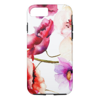Poppies in Water Colors iPhone 8/7 Case
