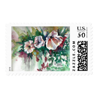 Poppies in Watercolor Stamps