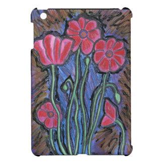 Poppies iPad Mini Covers