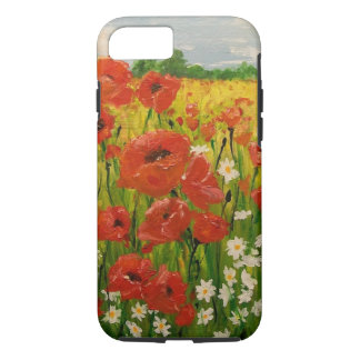 Poppies iPhone 7 Case
