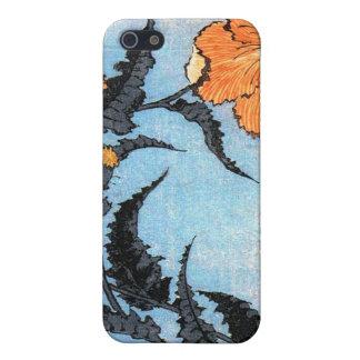 Poppies, Katsushika Hokusai Case For iPhone SE/5/5s