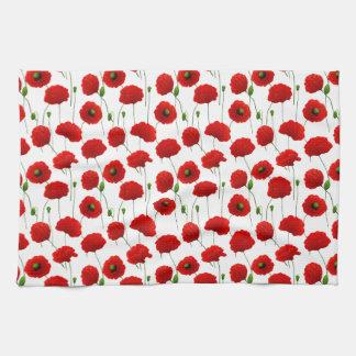 Poppies Hand Towel