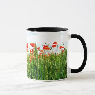 Poppies meadow mug