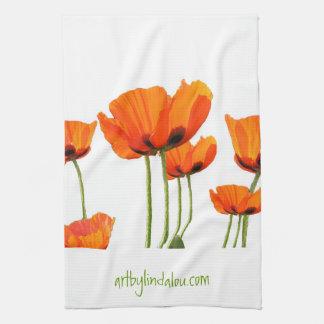 Poppies MoJo Kitchen Towel
