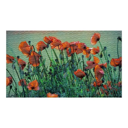 Poppies No. 4 | Poster Print