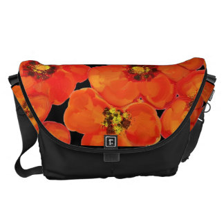 Poppies,Poppy,Floral bag Courier Bags