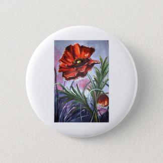 Poppies Poppy Office Personalize Destiny Destiny'S Pinback Button