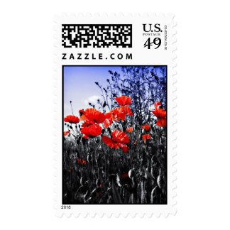 Poppies postage