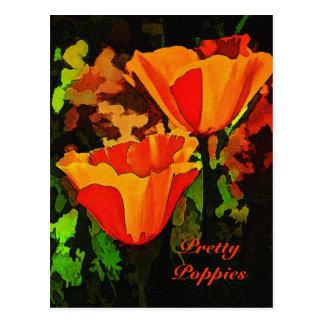 Poppies Postcard