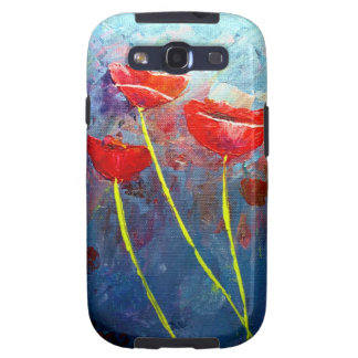 Poppies Samsung Galaxy S3 Cases
