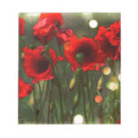 Poppies Scratch Pads