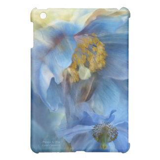 Poppies So Blue Art Case for iPad iPad Mini Cover