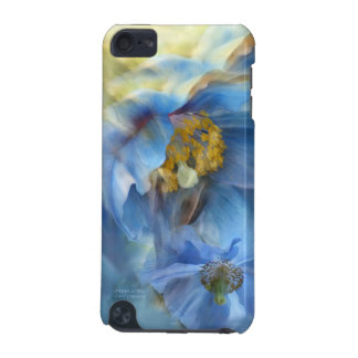 Poppies So Blue Art Case for iPod iPod Touch (5th Generation) Case