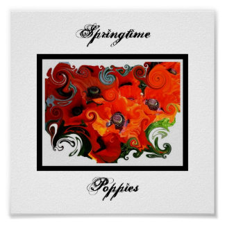 Poppies, Sp... Poster