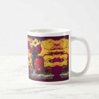 Poppies Still Life Mod Design Mug by SHARLES