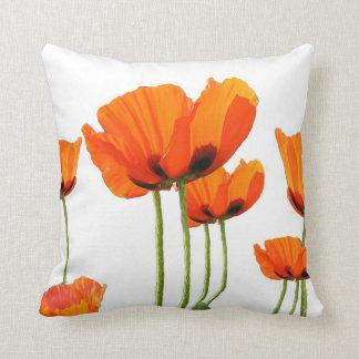 Poppies! Throw Pillow