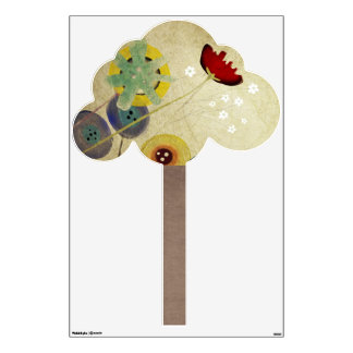 Poppies Tree Wall Decal