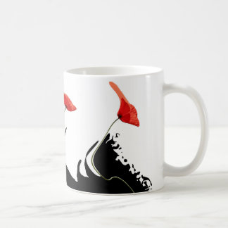 Poppies waves coffee mug