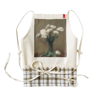 Poppies Zazzle HEART Apron