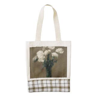Poppies Zazzle HEART Tote Bag