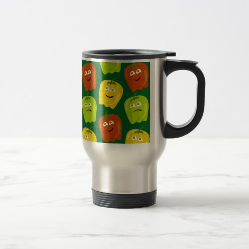 Poppin Bells Peppers Coffee Mugs