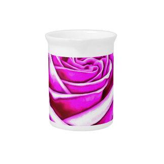 ©Poppin Purple Rose Pitcher