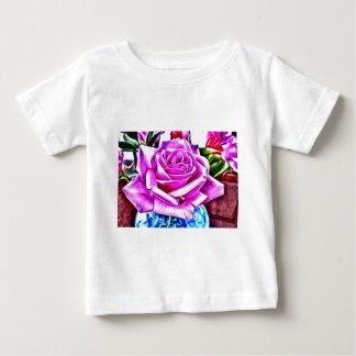 ©Poppin Purple Rose T-Shirts