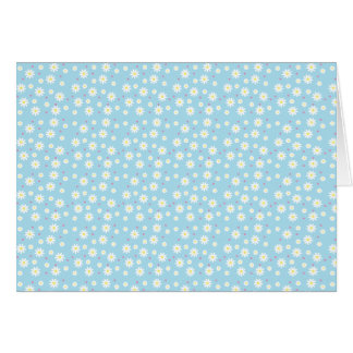 Poppin Up Daisies Blank Note Card