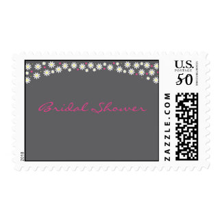 Poppin' up Daisies Bridal Shower Postage