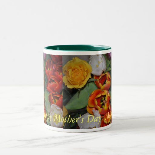 Popping BloomingRoses and Flowers Mother's Day Mug