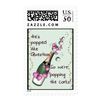 Popping Corks Postage