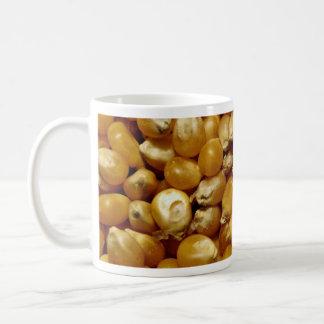 Popping corn coffee mugs