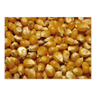 Popping corn custom invites