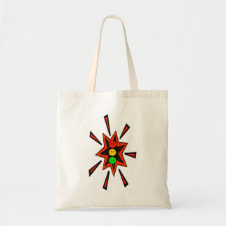 Popping Moody Stoplight Tote Bag